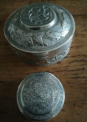 persian silver boxes