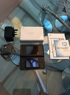 Nintendo DS Lite in Black with 6 Games