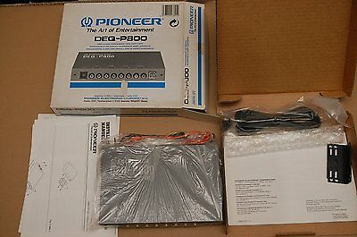 Pioneer component DEQ-P800 DSP Audio processor, made in Japan KEH DEH KEX