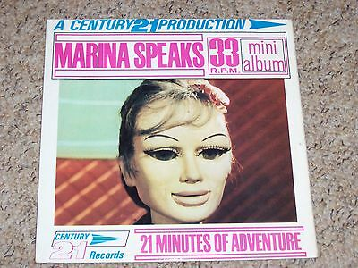 Gerry Anderson , Marina Speaks . Listen To Both Sides .