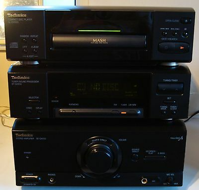 Technics CD Stereo System CH530 HiFi - CD Player, Tuner, Amplifier + Remote