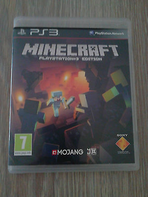 jeux Ps3 PlayStation 3 minecraft edition