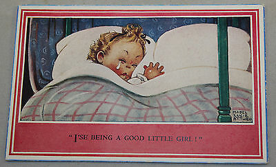 Vintage Humour Mabel Lucie Attwell Postcard By Valentine & Sons Unposted