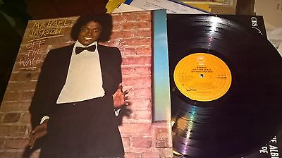 Lp Michael Jackson Off The Wall Gatefold Uk 1979 Orange Label