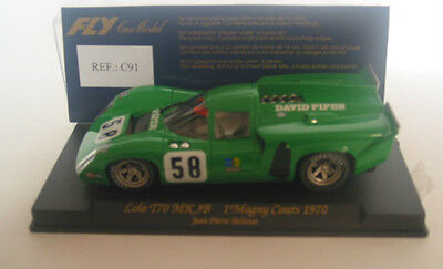 Fly C91 Lola T70 Mk 3B 1 Magny Cours 1970 Beltoise Mint Boxed Collectable