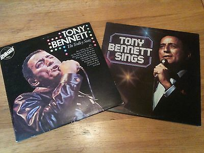TONY BENNETT - 2 Vinyl LP's (The Trolley Song & T.B. Sings) - EXCELLENT Cond.