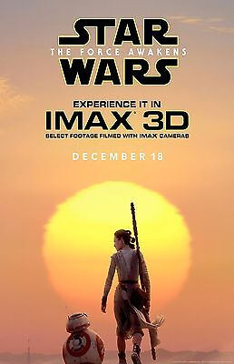 STAR WARS VII IMAX 11X17 Movie Poster collectible