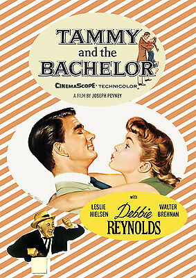 TAMMY AND THE BACHELOR Debbie Reynolds 11x17 mini movie poster collectible