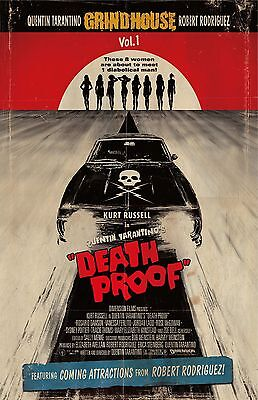DEATH PROOF 11x17 mini movie poster collectible