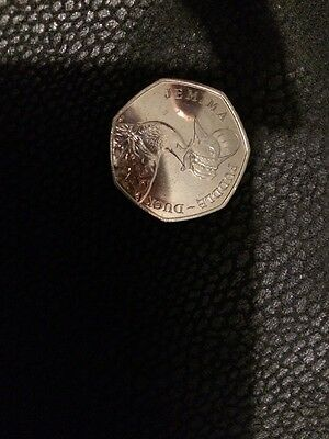 Jemima Puddle Duck Silver 50p Coin 2016