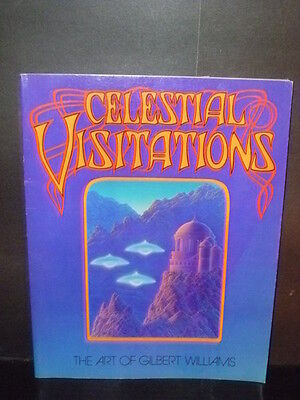 CROSBY STILLS NASH CELESTIAL VISITATIONS Psychedelic Poster by GILBERT WILLIAMS
