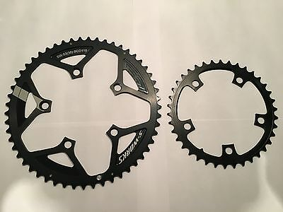 Specialized S-Works Team 53/38 110 bcd 110bcd compact chainrings by Rotor NoQ