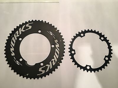 Specialized S-Works Team TT Aero chainrings - 130bcd - 53 + 54 T / 39 - 46 T