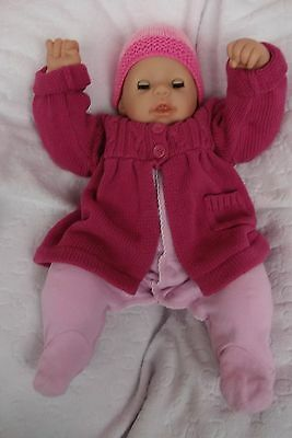 "Zapf Creation Baby Chou Chou 19"" Doll for Play or Reborn"