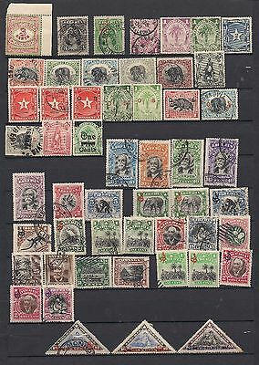 Liberia 1881-1912 Range of Issues Good-Fine Used and Mounted Mint