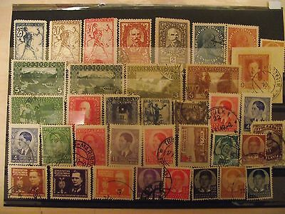 Jugoslavia old stamps Drzava,1917+.MH.usesd.Lot.16