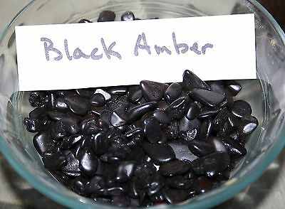 125ct RARE NATURAL BALTIC BLACK CHERRY AMBER PIECES *NON DRILLED