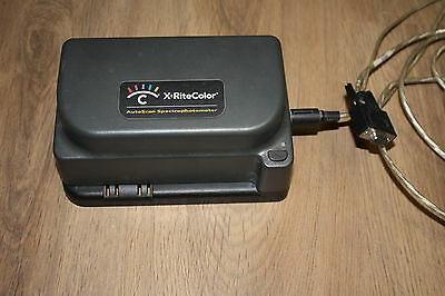 X-Rite dtp41b Spectrophotometer Autoscan Densitometer + USB serial adapter