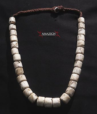 Fine Naga Necklace - Old Shell Beads - India/Burma