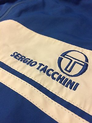 Sergio Tacchini Hooded Tracksuit Top