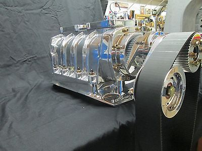 440 Dodge Chrysler 426 Wedge Complete Blower Kit 671 Or 871 Polished Ready To