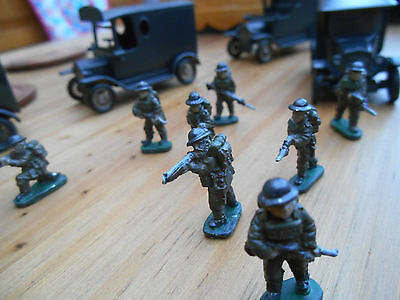 British infantry, WW11 Dads Army, Home Guard 1 7/2, 20mm miniatures