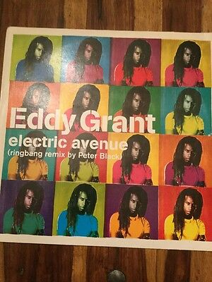 "EDDY GRANT Electric Avenue 12"" Vinyl / Record EAN: 685738897209"