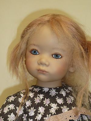 """Annette Himstedt's Vicki 30 3/4"""" from 2003 LE 277 Blonde Mohair & HH Wig"""