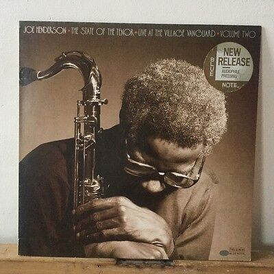 Joe Henderson-The State of The Tenor-Live at the Village Vanguard-Vol2-Blue Note
