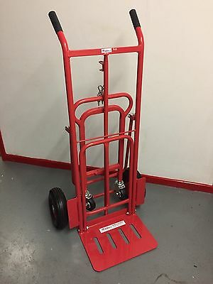 KBST09 SACK TRUCK 3 in 1 with PNEUMATIC WHEELS 250KG/ GAS CYLINDER TROLLEY