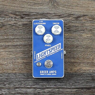 NEW Greer Amps Lightspeed Organic Overdrive w/ 2 FREE Patch Cables - FREE SHIP