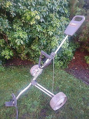 Deluxe Titleist TX  Manual Push & Pull Trolley Collapsible Stow Away.