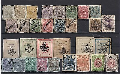 Persia 1899-1909 Range Fine Used and Mounted Mint