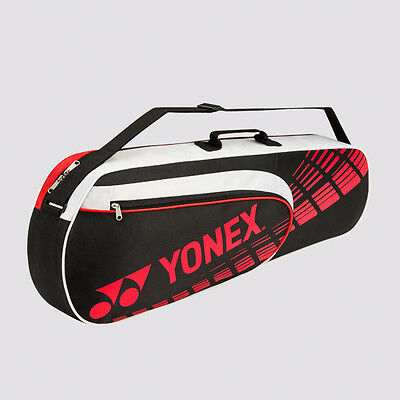 New Collection Yonex 4623EX Performance 3 Badminton Racket Bag (Black-White-Red)