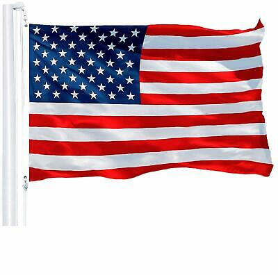G128 - 3x5 FT USA America Flag Stars Stripes Brass Grommets 150D Polyester