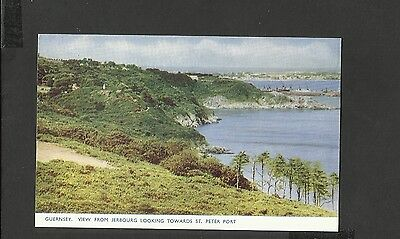 Guernsey Colour Postcard  View from Jerbourg-towards St.Peter Port-unposted