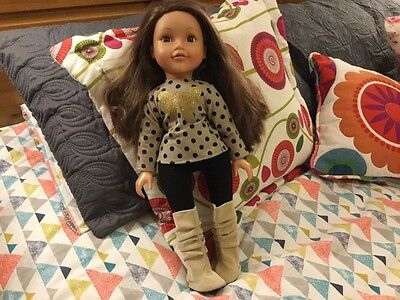 "Design a friend Doll Chad Valley 18"" doll"
