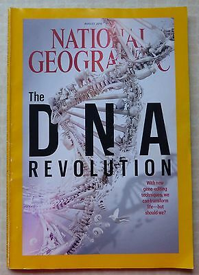 National Geographic Magazine - August 2016 - The Dna Revolution