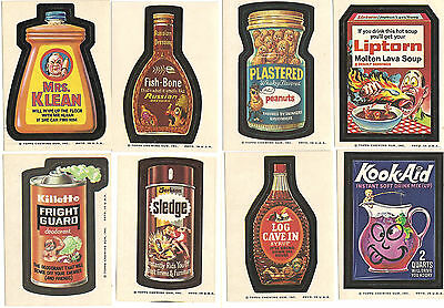 1973 Topps Wonder Bread Series 1-3 Wacky Packages 14 Stickers