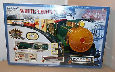Bachmann White Christmas Express HO Scale Electric Train Set 00609 Brand New!
