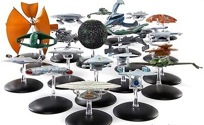 Star Trek Starship Collection model 51-100 specials ships Eaglemoss scale gift