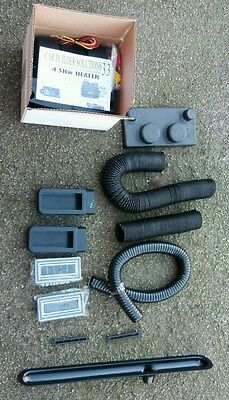 MK Indy Caterham Westfield Heater and pipework for Kit Car
