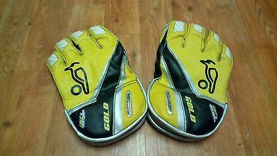 "KOOKABURRA GOLD Cricket Gloves ""Power Grip"""