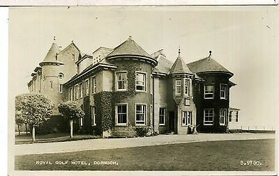 SUTHERLAND DORNOCH ROYAL GOLF HOTEL REAL PHOTO 1950s