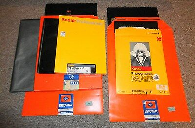 A Lot of Agfa and Kodak Photographic Photography Paper Take a LOOK !!!!!!!!!!!!!