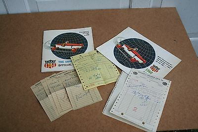1960 Soap box derby official rules instruction poster plans parts construction