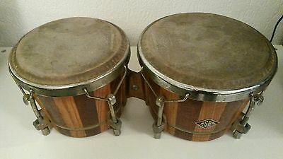 ASBA bongo batterie percussion vintage made in france
