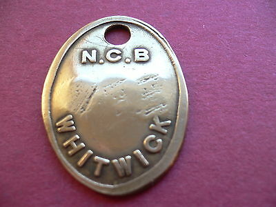 Whitwick Colliery Brass Pay Time Check Mining Miners Pit Lamp Token 214.