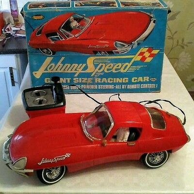 Rare Triang Vintage Rc Johnny Speed Car  with Box