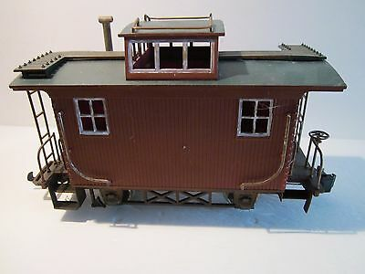 G SCALE Caboose used my be bachmann Red